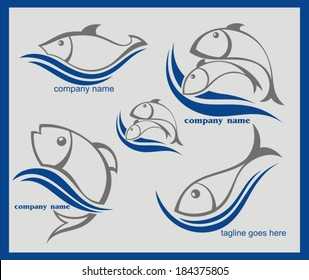 Signs with fish