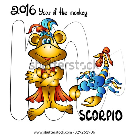 Scorpio monkey