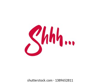 Silence shhh speech bubble no speaking no talking shhh vector sign silhouette please be quiet silent no talking sound off icon stop signs