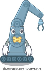 Silent toy mechatronic robot arm cartoon shape