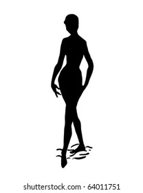Silhouette 12 - Retro Clipart Illustration