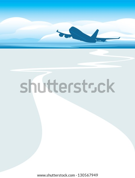 silhouette-airplane-on-cloudscape-backgr