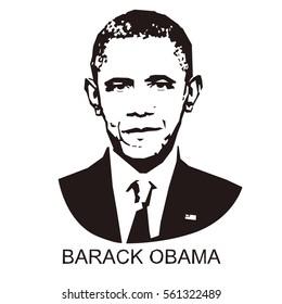 silhouette Barack Obama