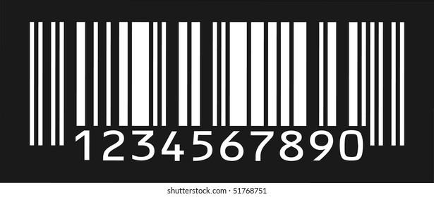 silhouette bar-code