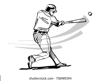 a silhouette of a baseball player