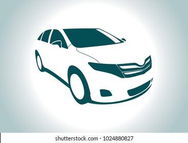 Suv Cars Toyota Stock Vectors Images Vector Art Shutterstock