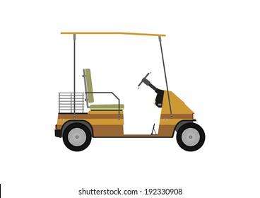 Golf Cart Cartoon Images Stock Photos Vectors Shutterstock