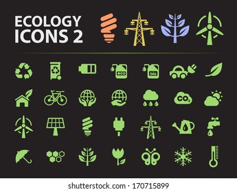 Silhouette Ecology Icons 2.