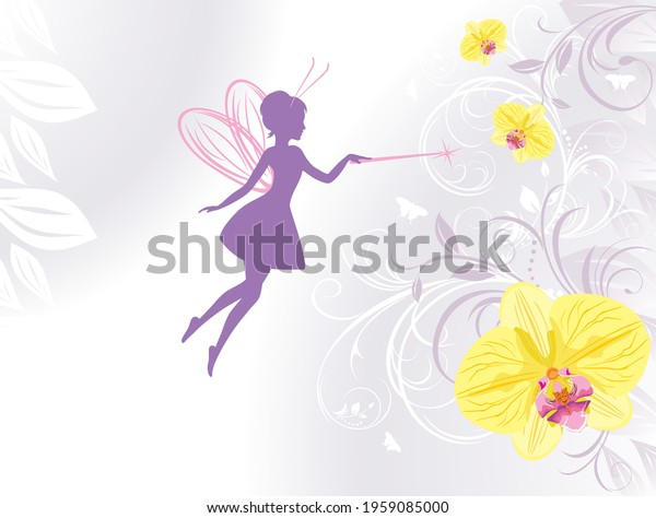 silhouette-fairy-on-floral-background-60
