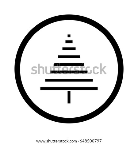 Silhouette Flat Icon Simple Vector Design Stock Vector Royalty Free