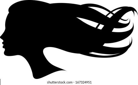 Silhouette head