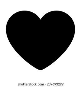 heart silhouette images  stock photos   vectors shutterstock wildlife clip art black wildlife clip art free