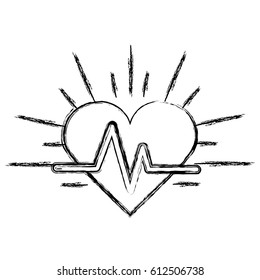 Cardiac cycle images stock photos vectors shutterstock silhouette heartbeat cardio vital sign ccuart Images