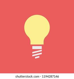Silhouette icon lamp