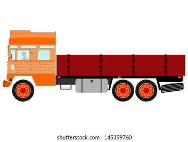 Indian Lorry Images, Stock Photos & Vectors | Shutterstock