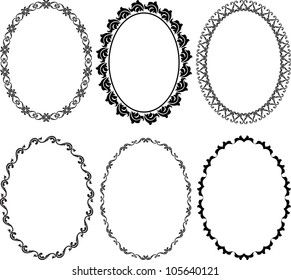 royalty free oval frame images stock photos vectors shutterstock
