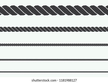 silhouette of rope illustration