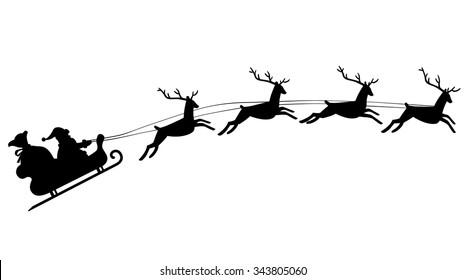 Lovely Santa Sleigh Images, Stock Photos & Vectors | Shutterstock VA64