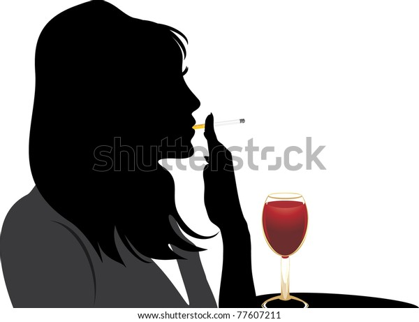 silhouette-smoking-woman-glass-red-600w-