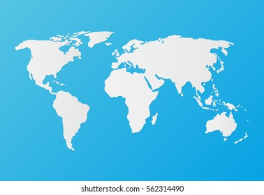 World map wallpaper earth globe earth vectores en stock 332355944 silhouette white world map on a blue background flat style gumiabroncs