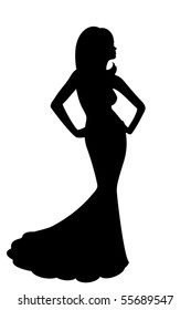 Diva Silhouette Images Stock Photos Vectors Shutterstock