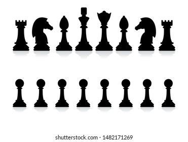 graphic about Printable Chess Pieces identify Chess King Visuals, Inventory Pics Vectors Shutterstock