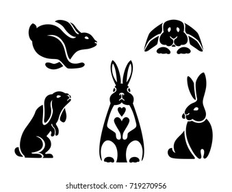 Rabbit Paw Print Images Stock Photos Vectors Shutterstock White cloud illustration, speech balloon thought bubble, imagine s, love, white, face png. https www shutterstock com image vector silhouettes hares different poses logo rabbit 719270956
