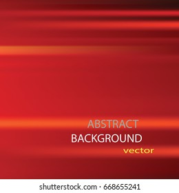 Silky red abstract background; eps10 vector