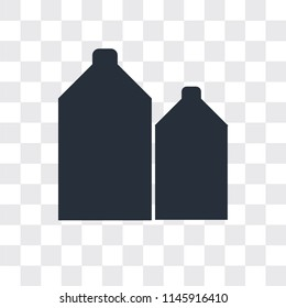 Silo vector icon isolated on transparent background, Silo logo concept