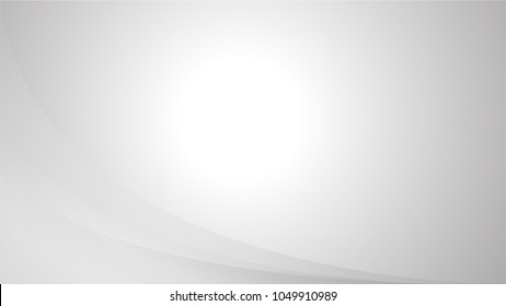 Silver Background With Ligths and Gradient