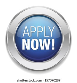 Silver blue apply now button.