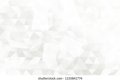 Silver color geometric low poly vector illustration. For Business Design Templates, Wallpaper, holiday invitation.