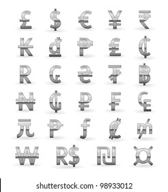 World Currency Symbols Images, Stock Photos & Vectors | Shutterstock