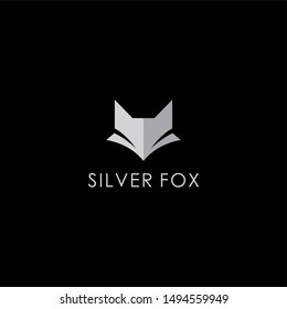 Silver Fox Logo Design suitable for your fashion brand