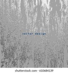 Silver glossy texture. Metallic pattern. Argent Grunge background.