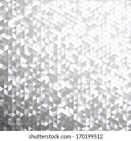 Silver gray blinking glitter background.Glittering sequins mosaic pattern.