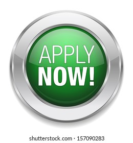 Silver green apply now button.