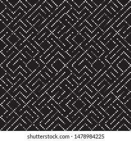 silver grey modern repeating geometric pattern with dots and circles organized in lines. for textile, fabric, backgrounds, cards and creative festive designs. the tile is seamless