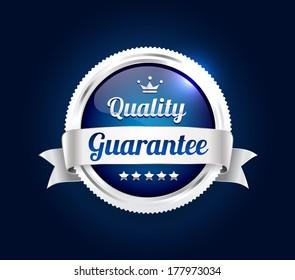 Silver Quality Guarantee Badge