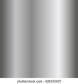 Silver texture seamless pattern. Light realistic, shiny, metallic empty vertical gradient template. Abstract metal decoration. Design wallpaper, background, wrapping, fabric etc. Vector Illustration.
