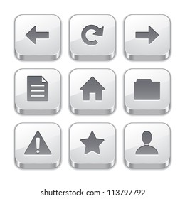 silver toolbar button icons no.1