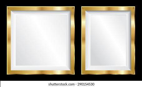 Silver Vector Picture Frames