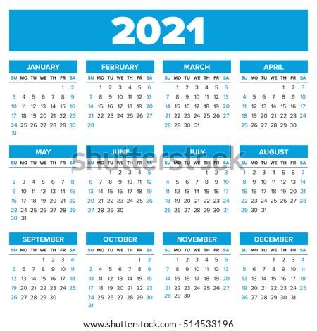 Periode Kalender 2021