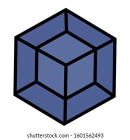a simple 4rd dimensional cube