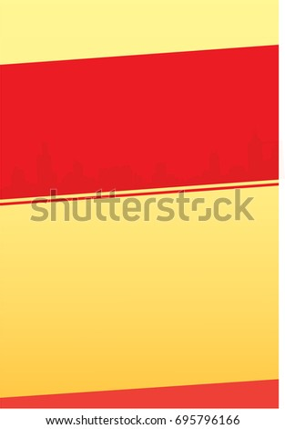 simple a 4 size background design pamphlet stock vector royalty