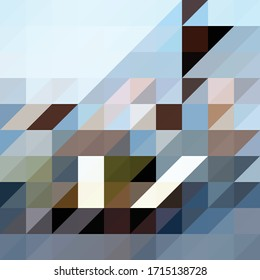 Simple abstract triangle vector background