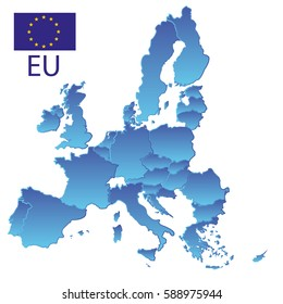 European Union Map Images, Stock Photos & Vectors | Shutterstock