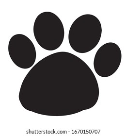 paw print cartoon high res stock images | shutterstock  shutterstock