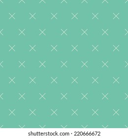 Simple background with crosses and dots