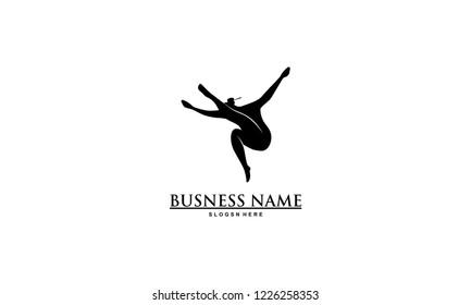 ballet dancer logo images stock photos vectors shutterstock